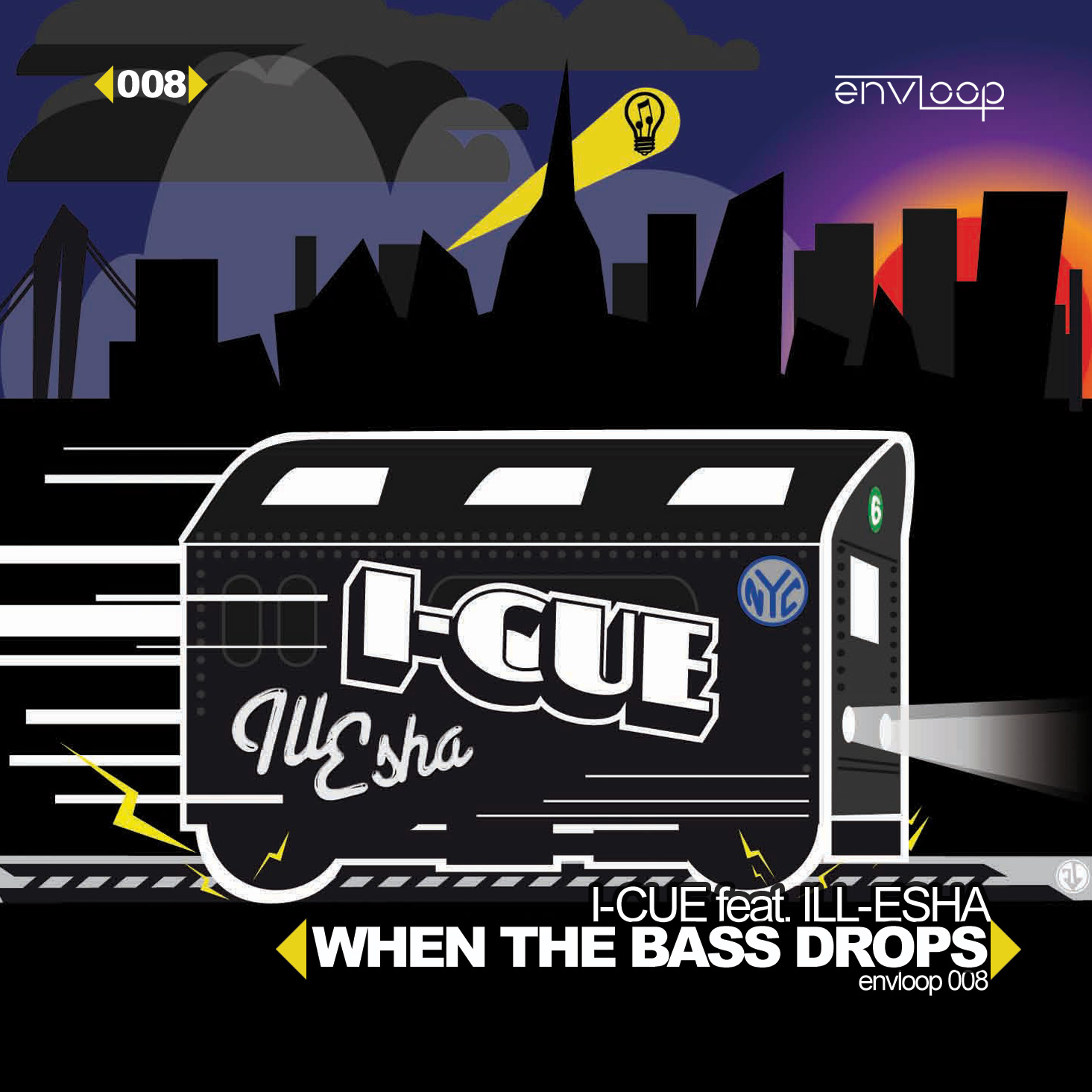I-Cue feat. Ill-Esha – When The Bass Drops (mightiness VIP-RMX)